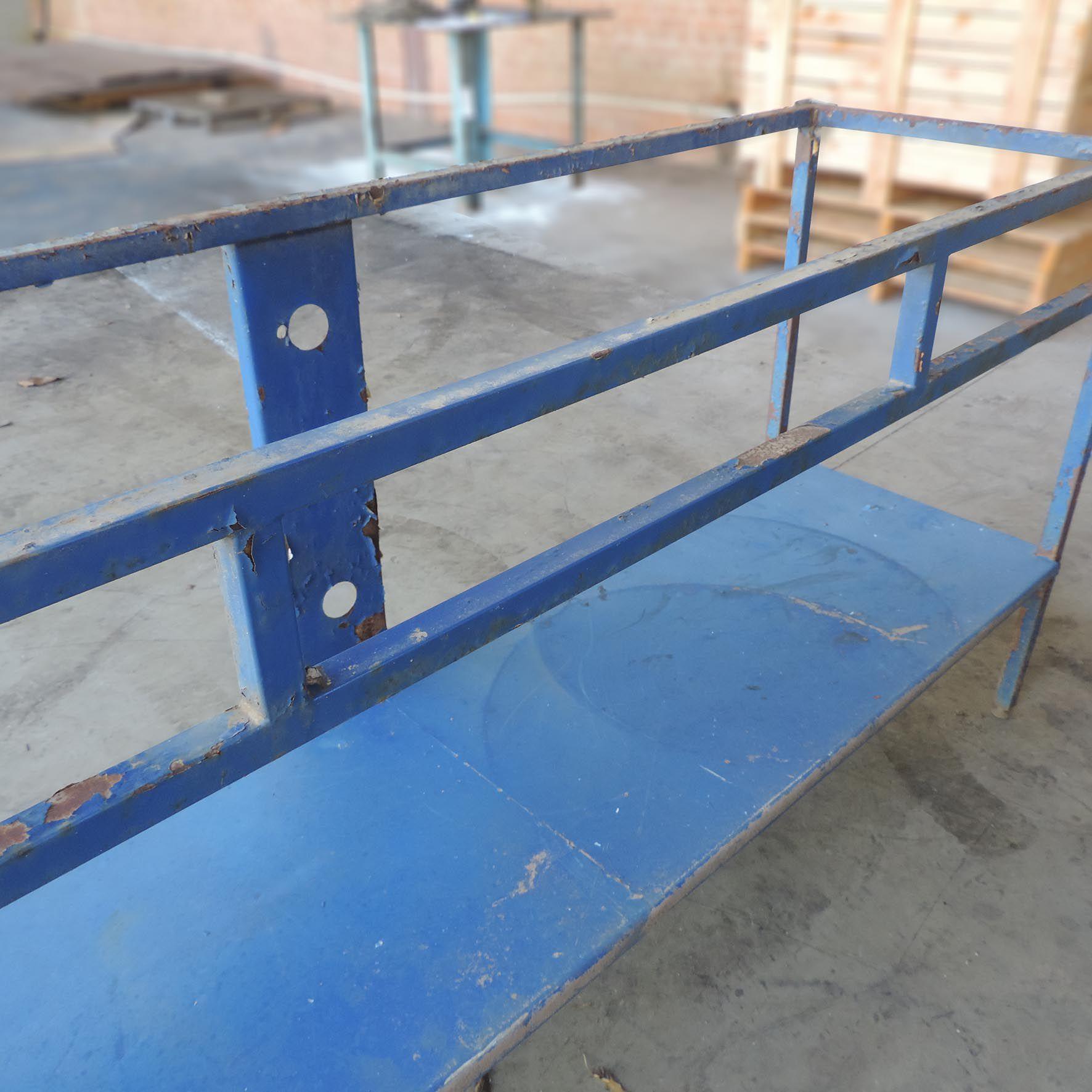 Mesa de aço Tipo Bancada só a Estrutura SP155 - Usado