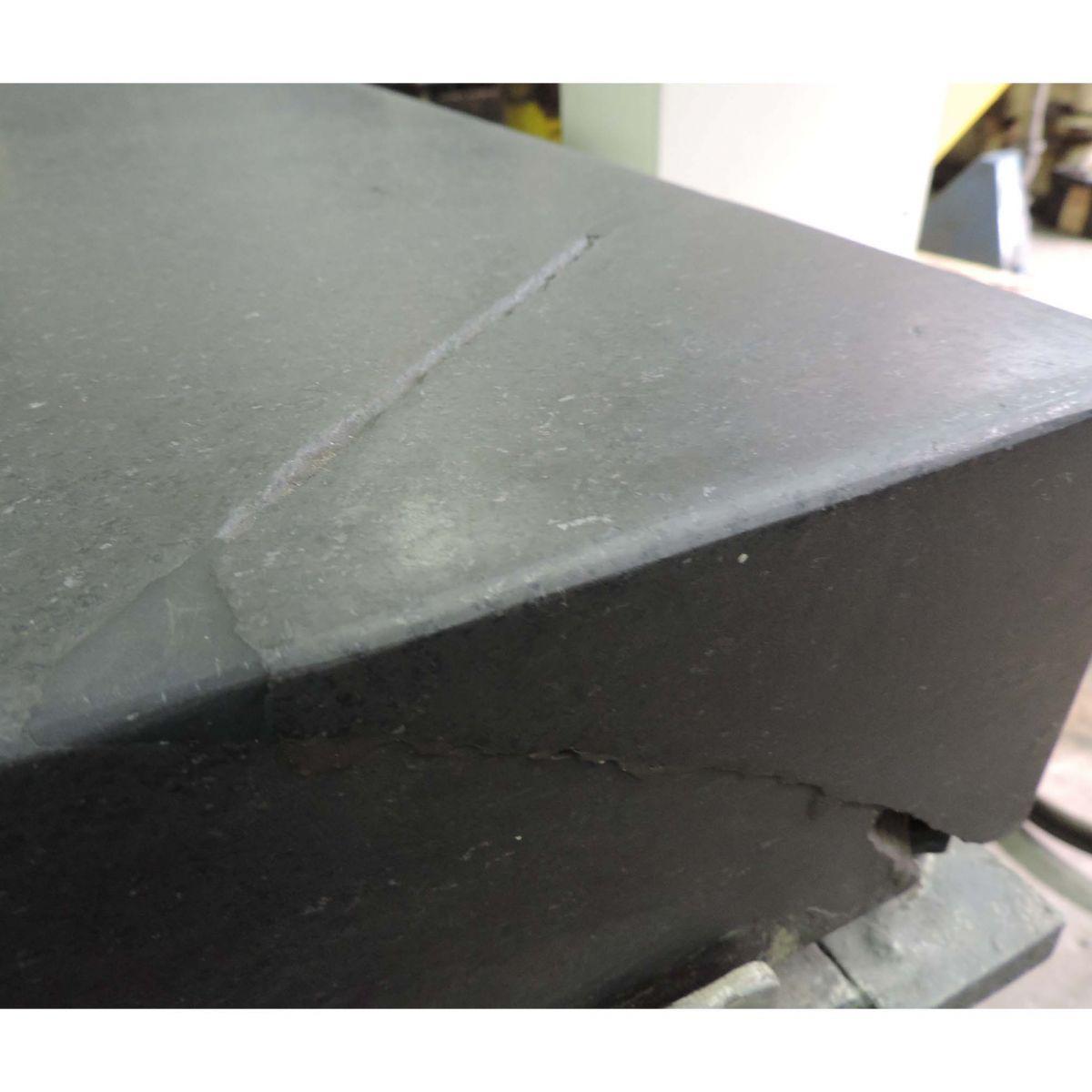 Mesa De Desempeno De Granito 1200x800mm Usada