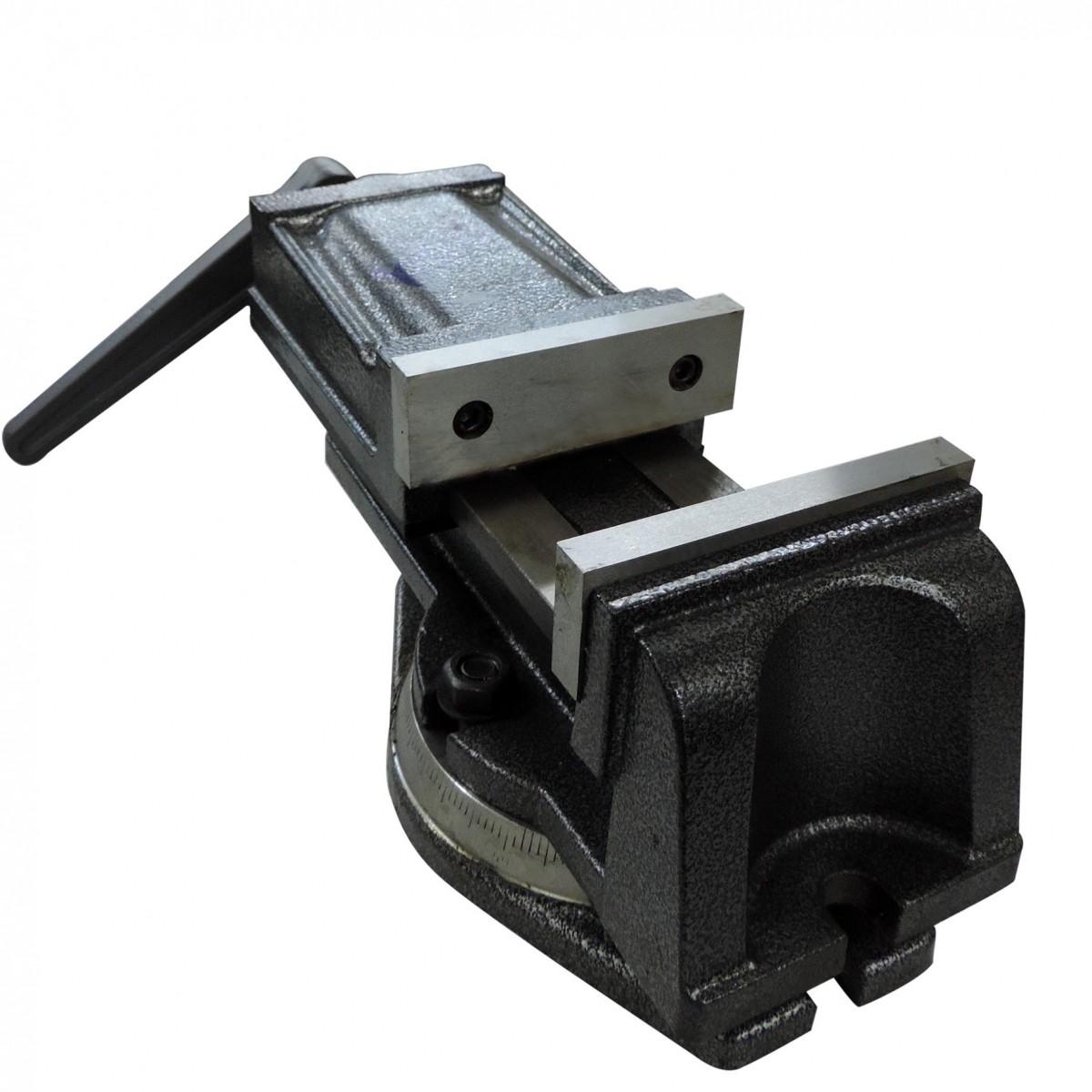 Morsa De Precisão Giratória 80mm De Abertura Q74