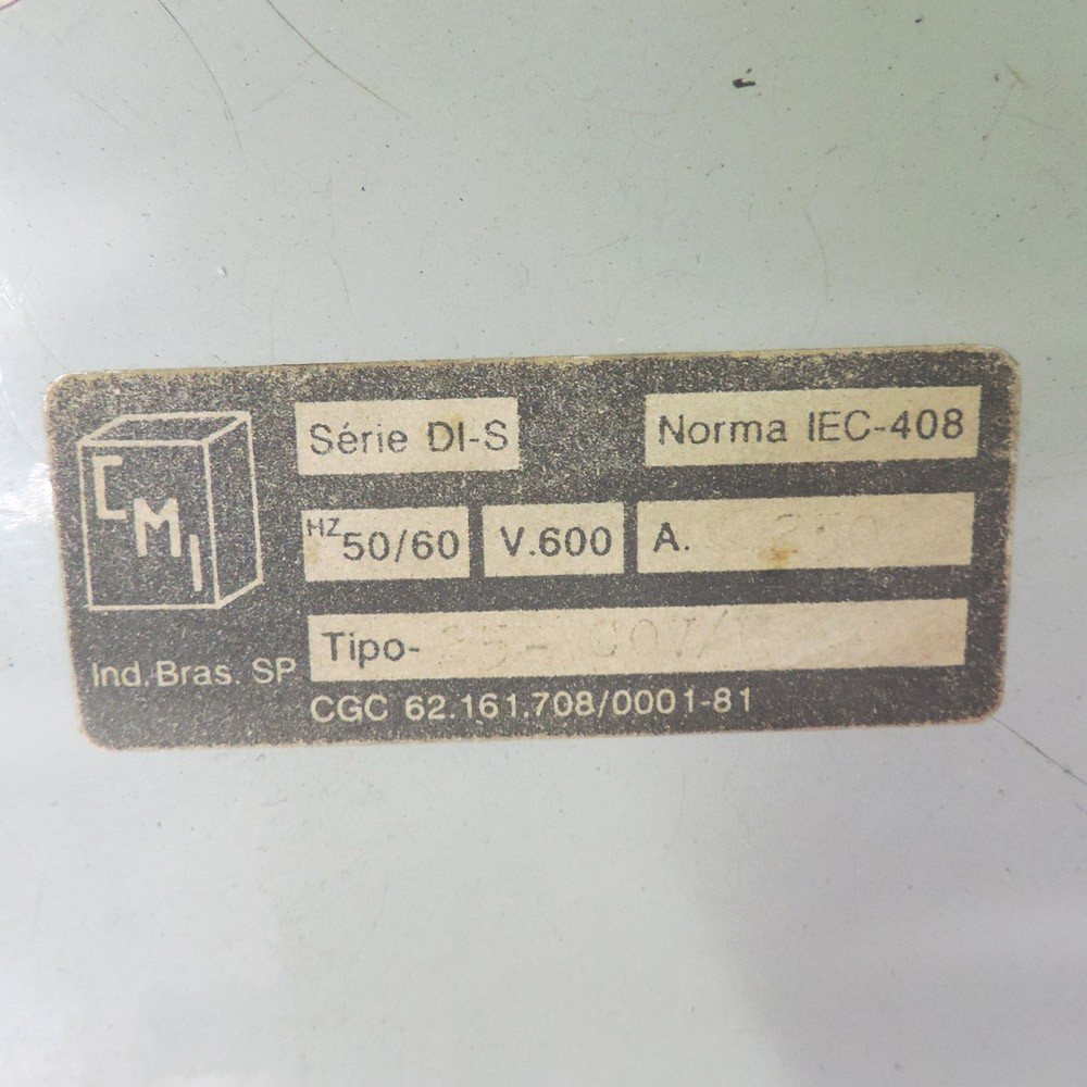 Mostruário De Chaves Elétricas - TB97 - Novo
