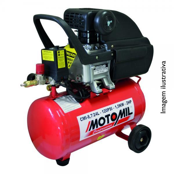 CMI-8,7/24 MOTOCOMPRESSOR 2HP MONO BIV 127/220V - MOTOMIL