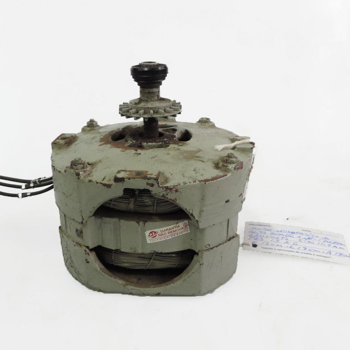 Motor Monofásico de Alta Rotação  Marca Siemens F33 - 0,5 Cv 1420 RPM