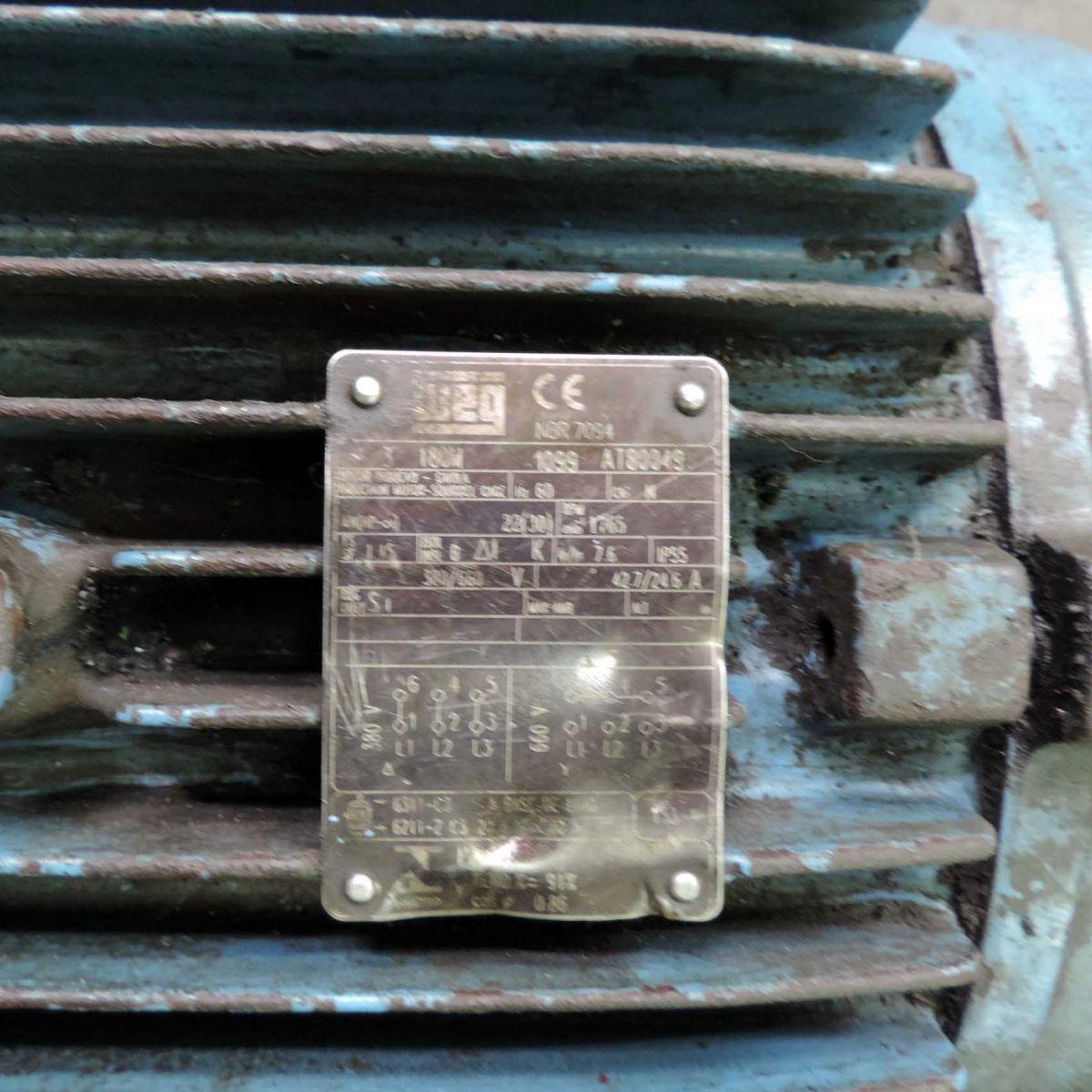 Motor Trifásico Marca Weg F35 - 30 Cv 1420 Rpm