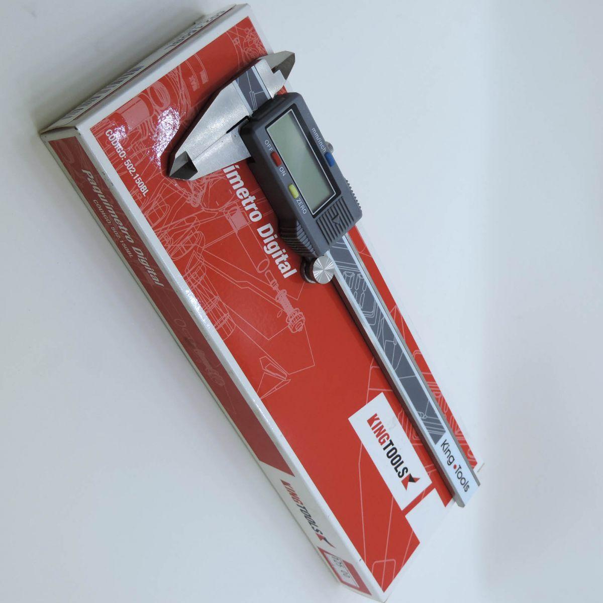 Paquímetro Digital 150mm/6