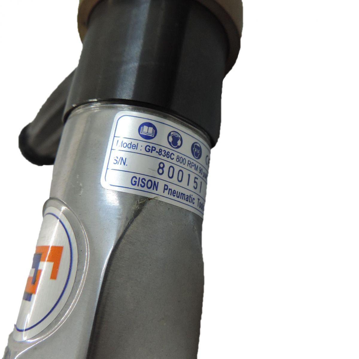 Parafusadeira Pneumática Gp-836c - 800 Rpm - Gison - Q33 - Nova