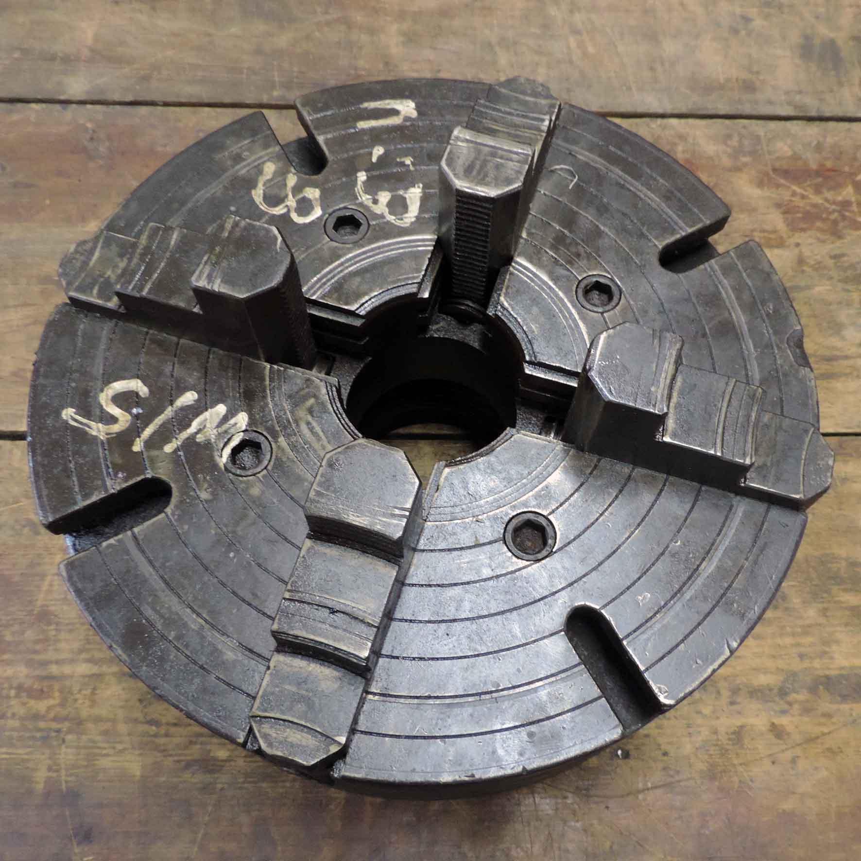 Placa De 04 Castanhas Independentes 380mm Com Flange Cd33