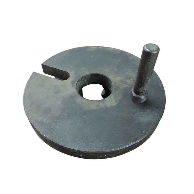 Placa Lisa De Arraste Torno 190mm – SC509 – Usada
