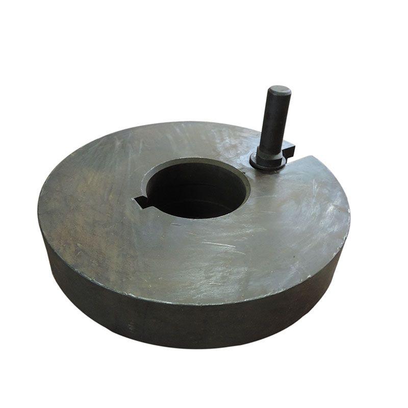 Placa Lisa De Arraste Torno 250mm – SC513 – Usada
