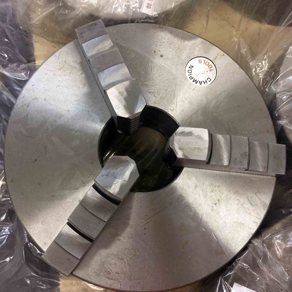 Placa Para Torno 3 Castanhas Universais 250mm