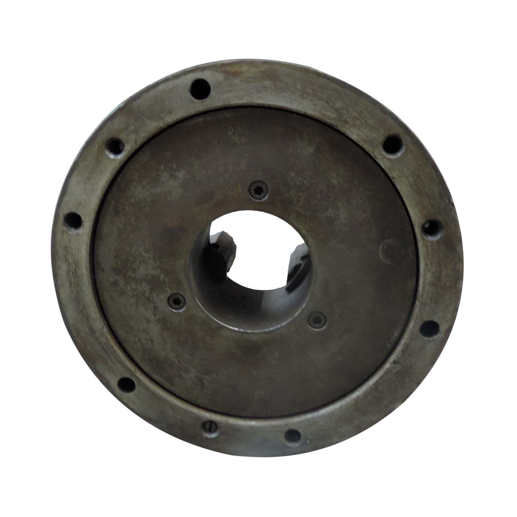 """Placa para torno 3 castanhas universal 250mm/10"""" SC446 usado"""
