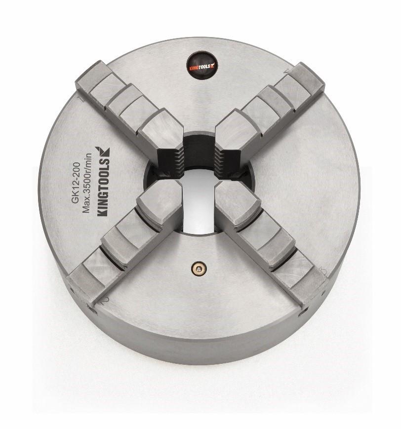 Placa universal para Torno com 4 Castanhas 10 Polegadas (250mm) – Kingtools