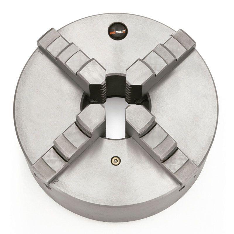 Placa universal para Torno com 4 Castanhas 200mm – Kingtools