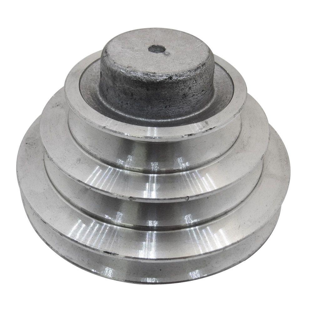 """Polia de Alumínio Escalonada 2.1/2"""" - 3.1/2"""" - 4.1/2"""" A1"""