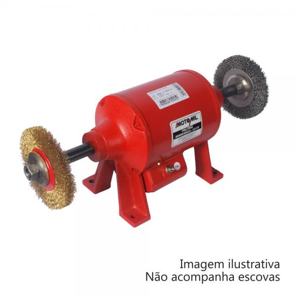 Politriz 1 Hp Pm-100m Monofásico - Motomil
