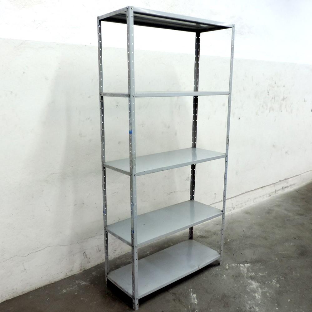 Prateleira De Aço Com 4 Vão Úteis – SL19 – Usada