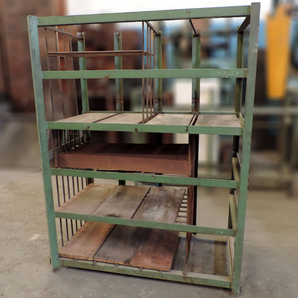 Prateleira Reforçada De Aço Para Fim Industrial – Ba22 - Usada