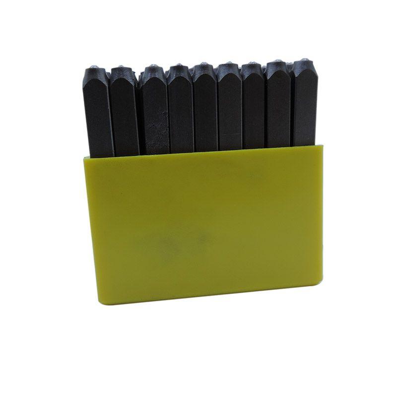 Punção Alfabética 3.00mm – Jogo Com 27 Peças