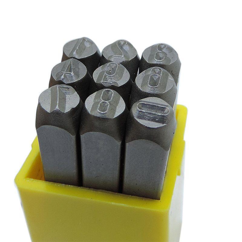 Punção Numérica 5.00mm – Jogo Com 9 Peças