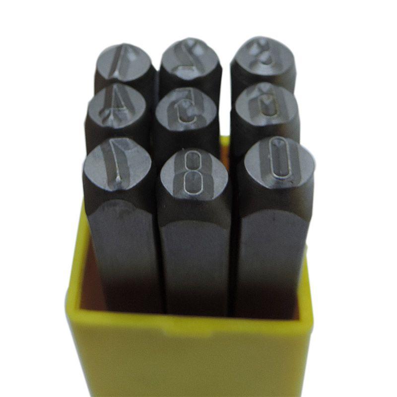 Punção Numérica 6.00mm – Jogo Com 9 Peças