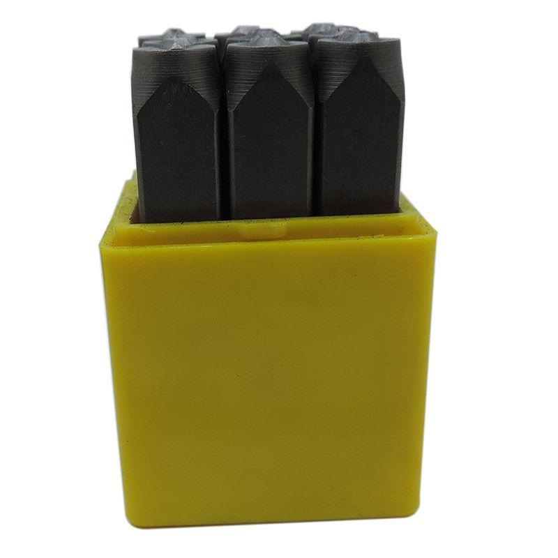 Punção Numérica 8.00mm – Jogo Com 9 Peças