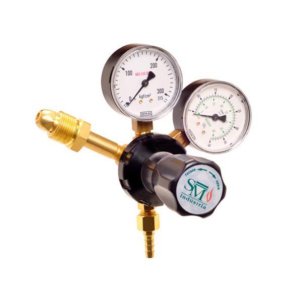 Regulador De Pressão Para Gás Acetileno Mod.300 - SM Indústria