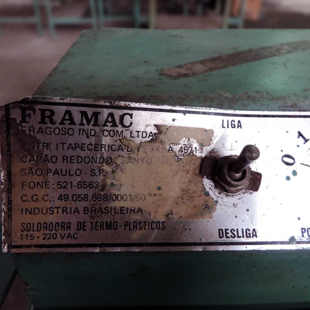 Seladora De Plásticos Marca Framac Sm1