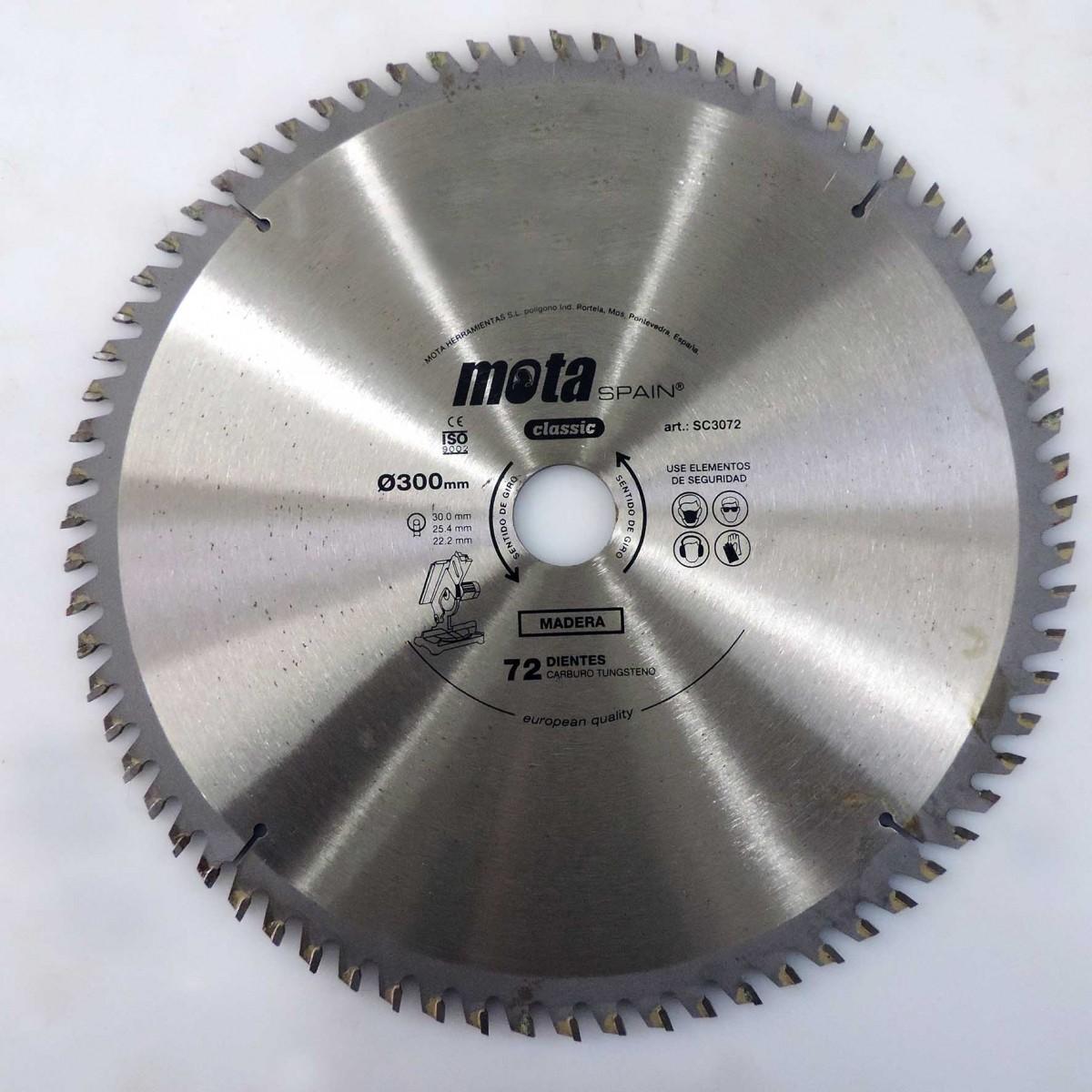 Serra Circular Para Madeira 300mm - Marca Mota - U81