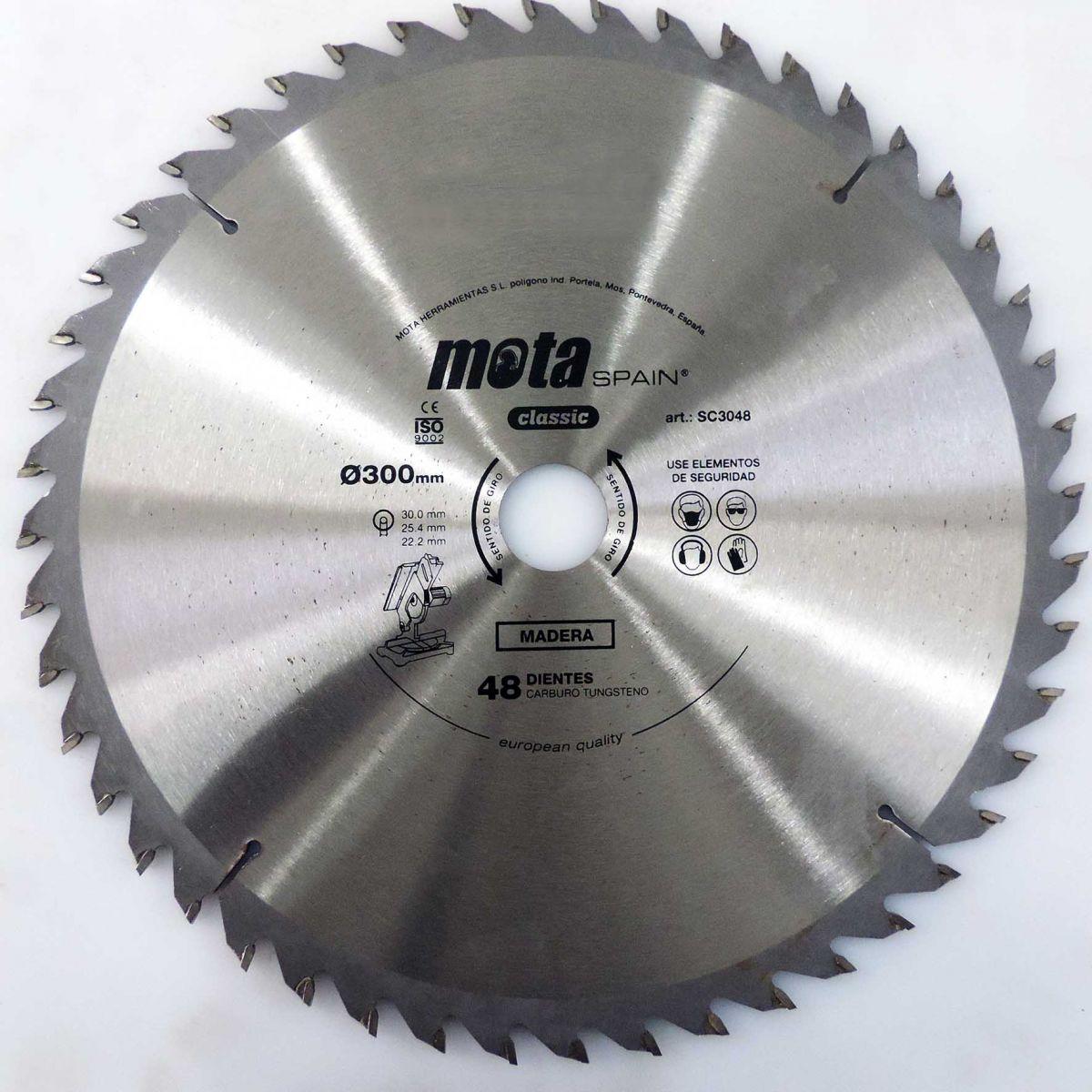 Serra Circular Para Madeira 300mm - Marca Mota - U82