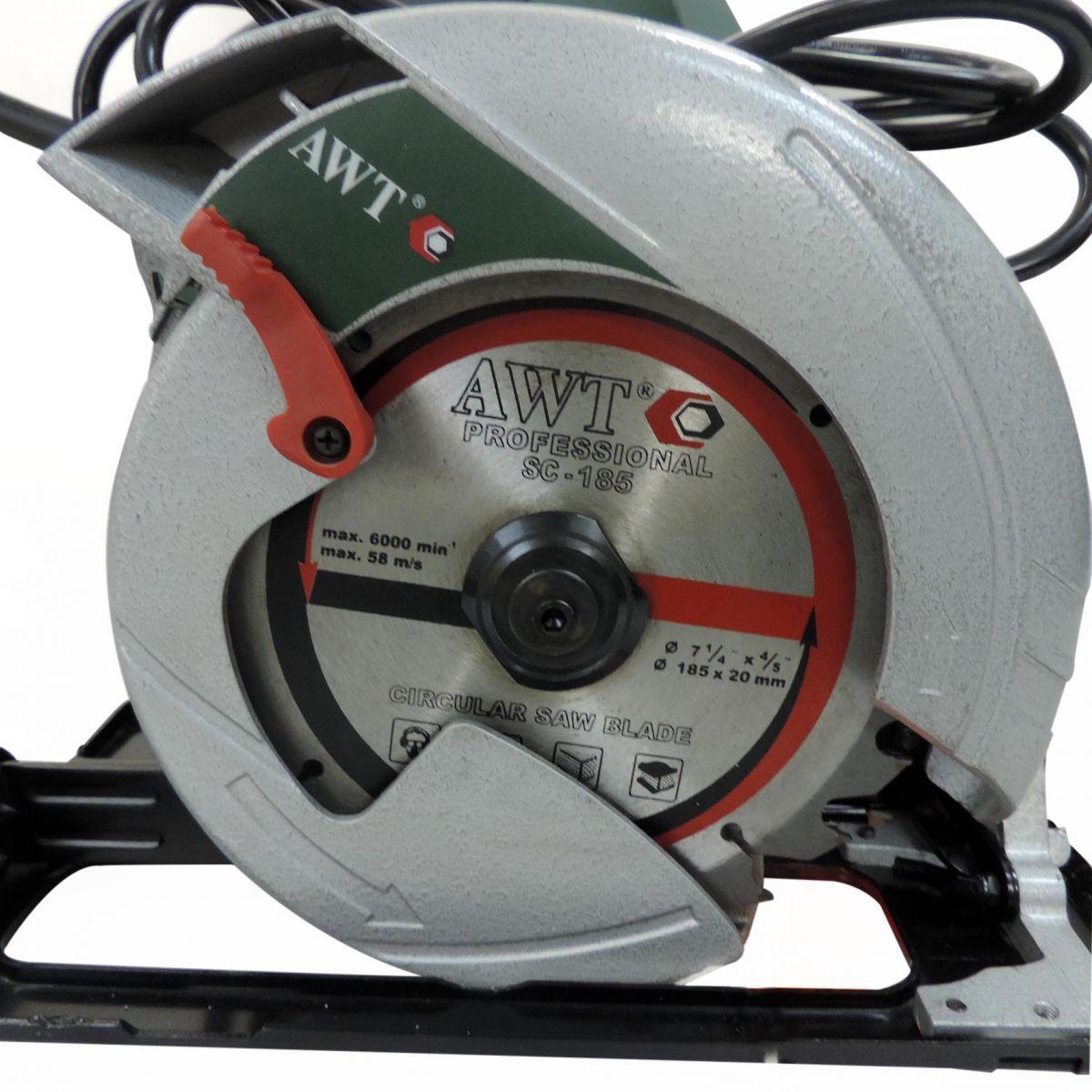 016 Serra Circular Sc-185 1350w 127v Awt Nova