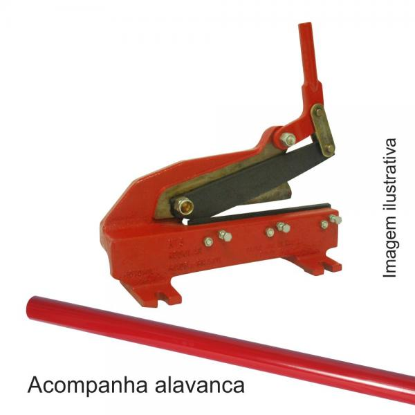 Tesoura P/cortar Chapa N°05 - Modelo Mtc-05 - Motomil - Nova