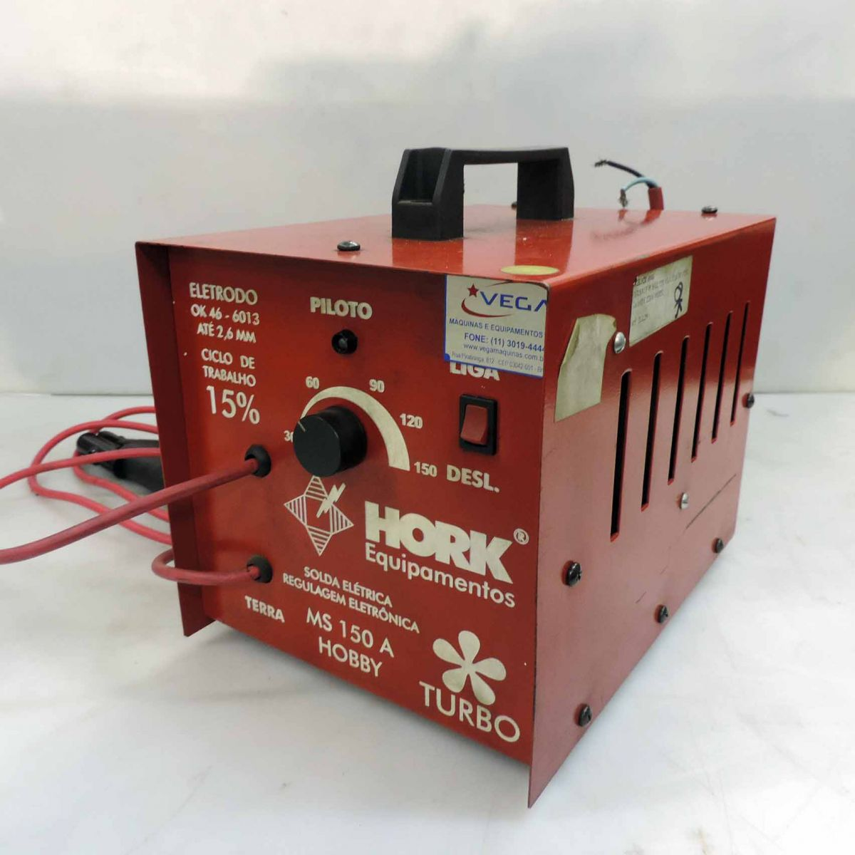 Carregador de Bateria 150a Hork Ms 150 - 220v