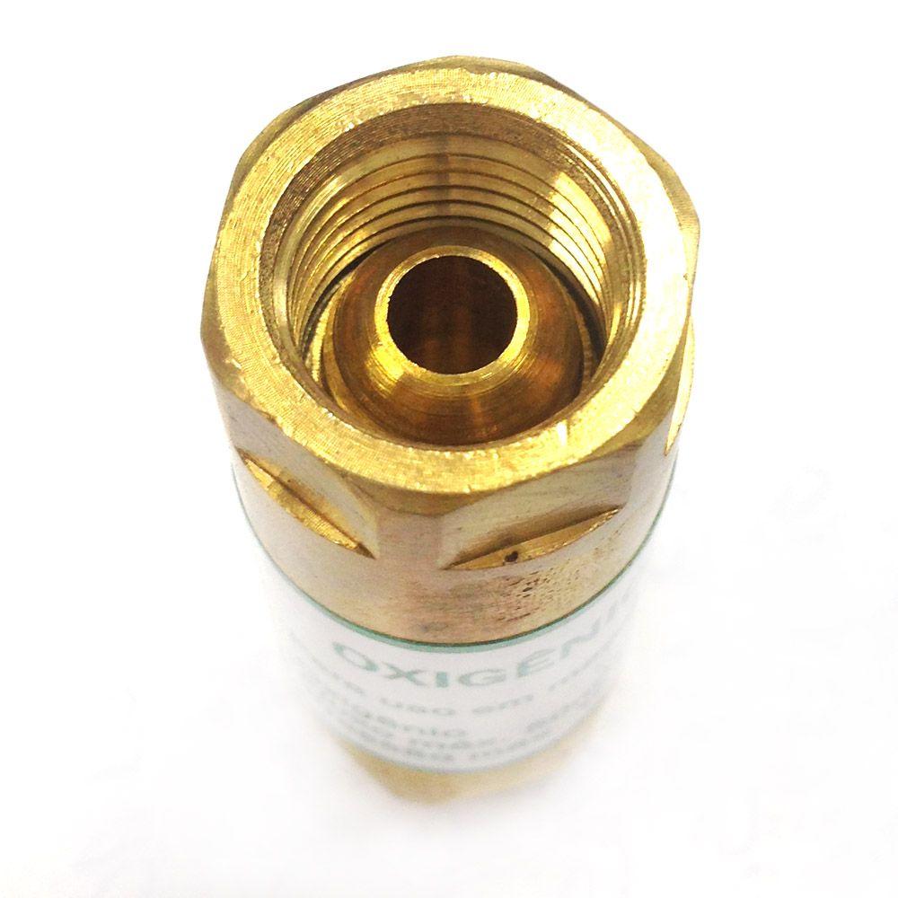 Válvula Contra Retrocesso de Chama Oxigênio VCR-25 - SM Indústria