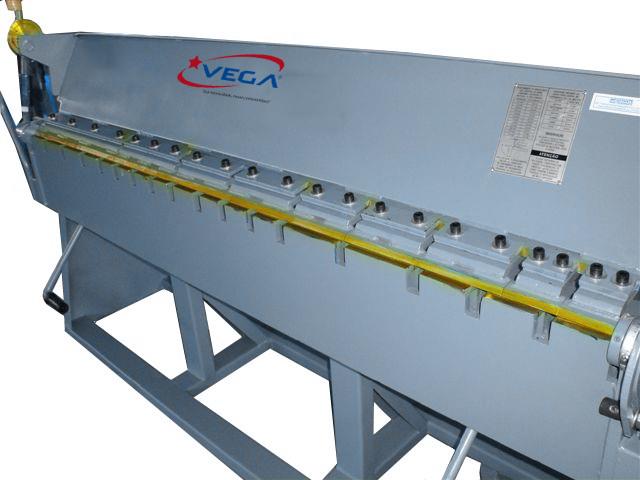 Viradeira de Chapas Manual Dentada - 2M -TDC 20 - Vega