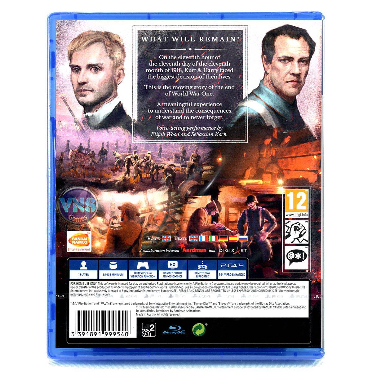 11-11: Memories Retold - PS4