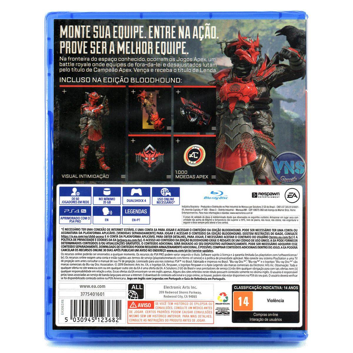 Apex Legends - Edição Bloodhound - PS4