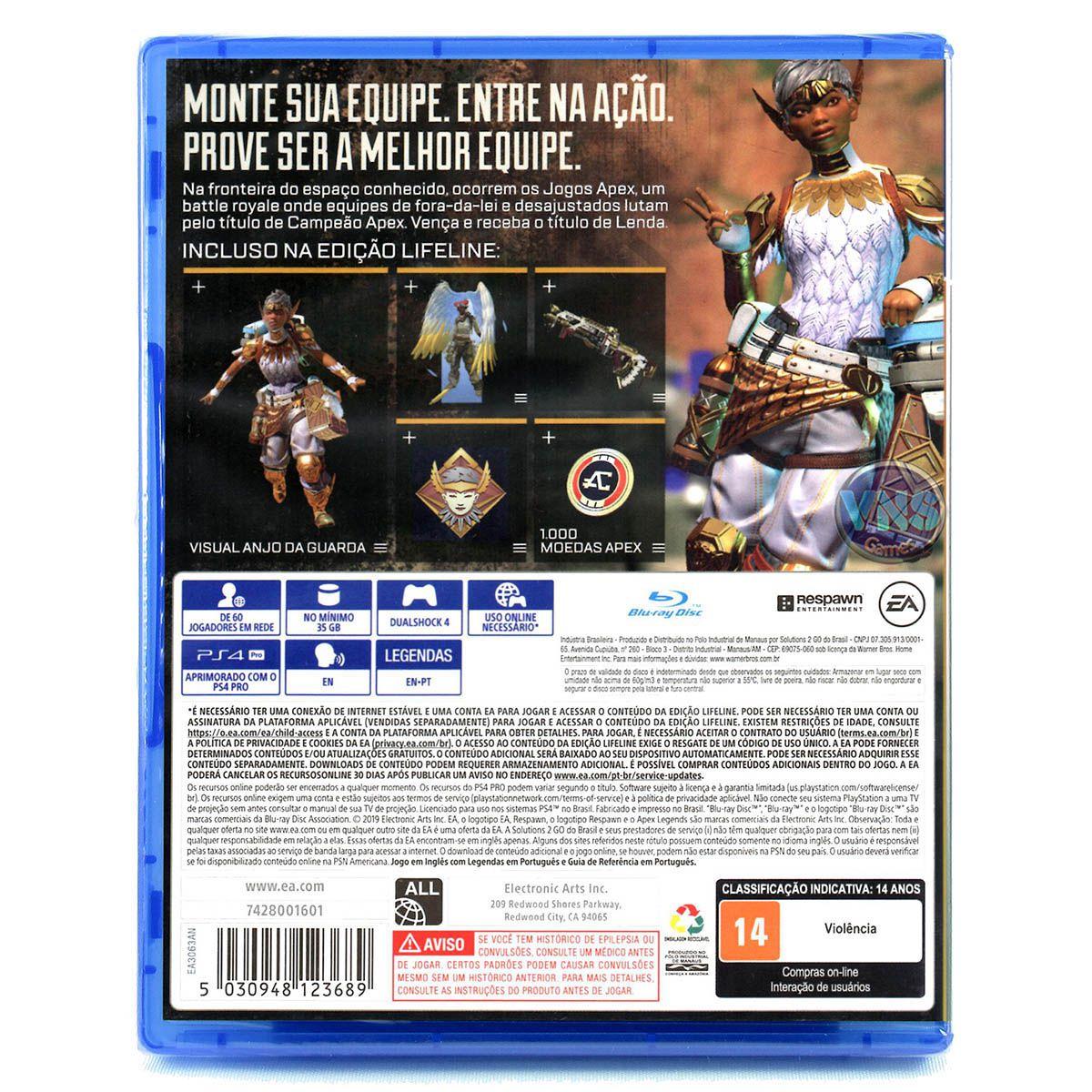 Apex Legends - Edição Lifeline - PS4