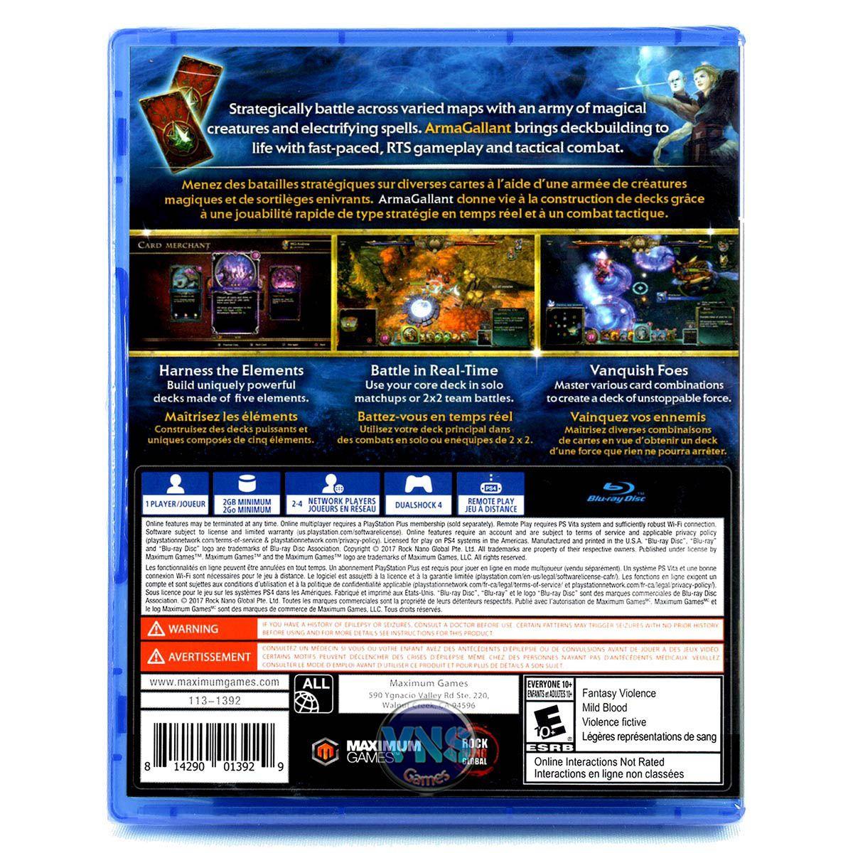 Armagallant Decks of Destiny - PS4