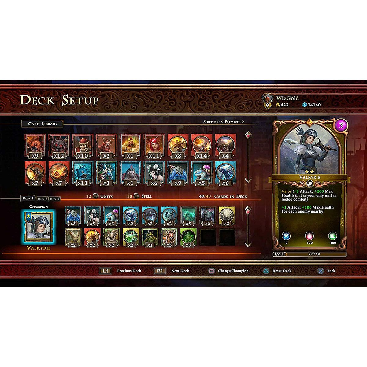 Armagallant Decks of Destiny - PS4