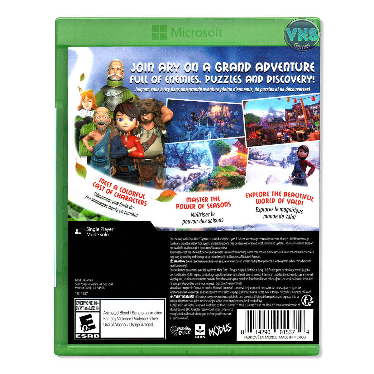 Ary and the Secret of Seasons - Xbox One