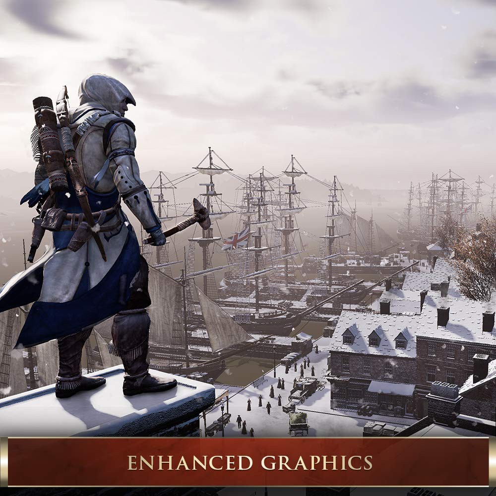 Assassin's Creed 3 III Remastered - PS4