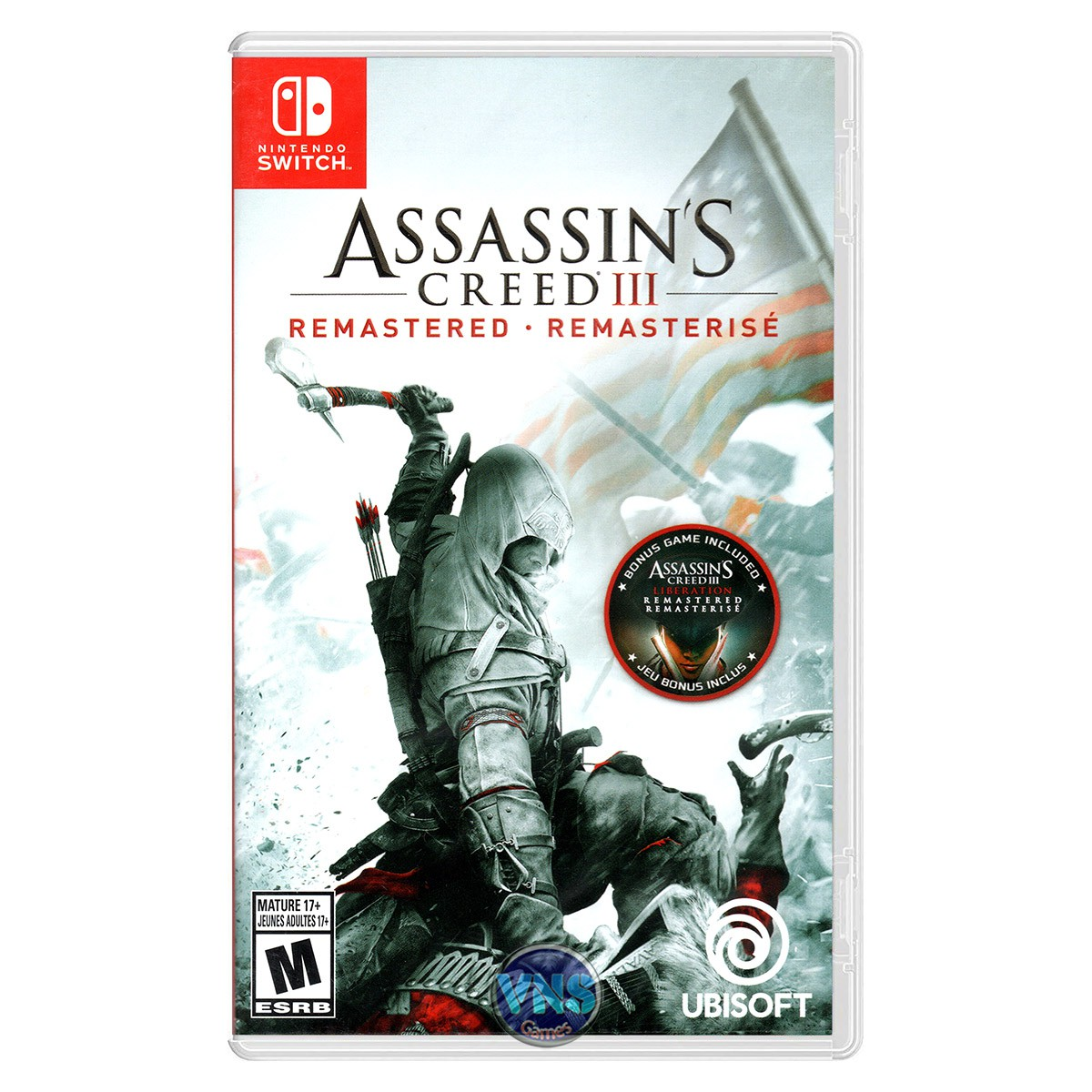 Assassin's Creed 3 III Remastered - Switch