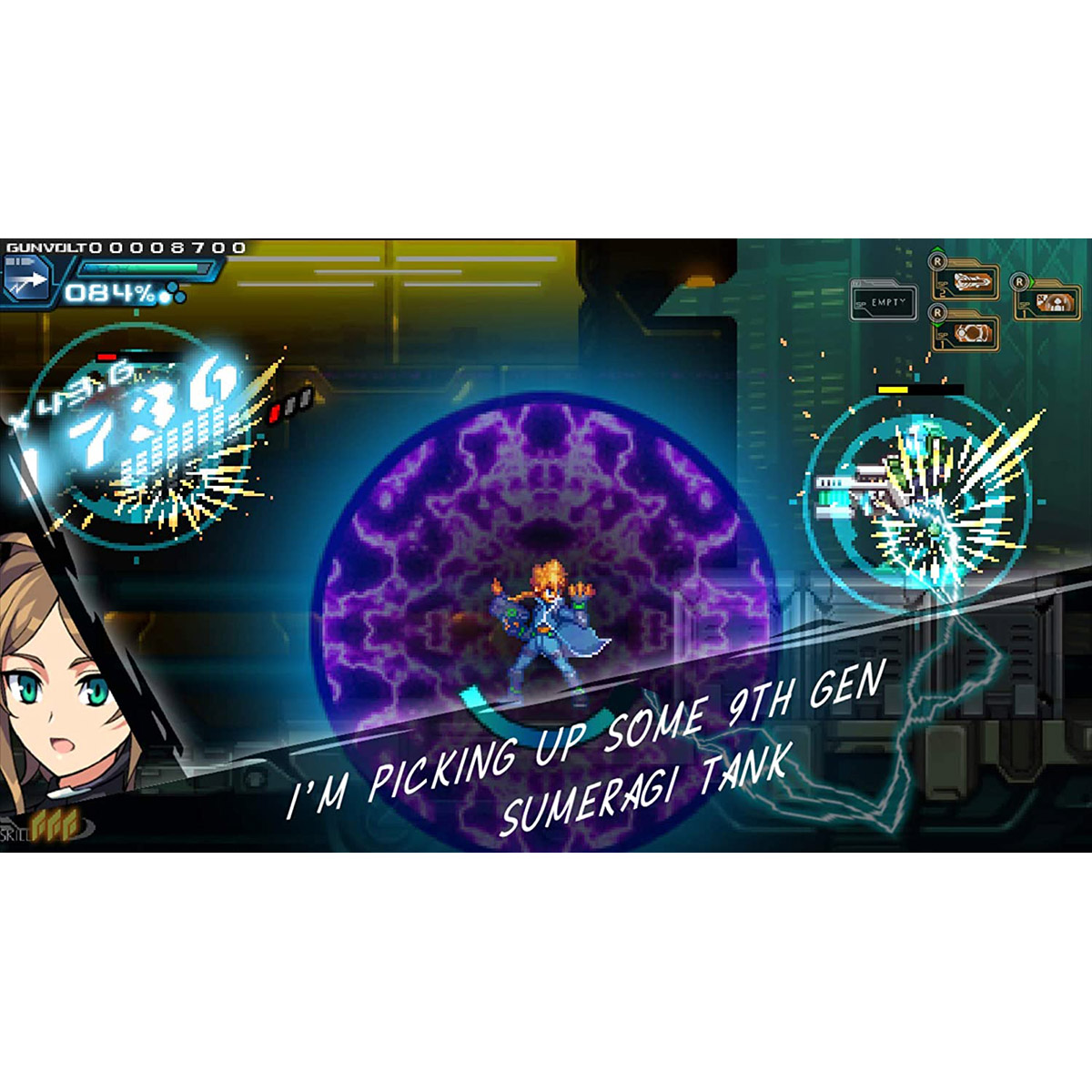 Azure Striker Gunvolt: Striker Pack - PS4