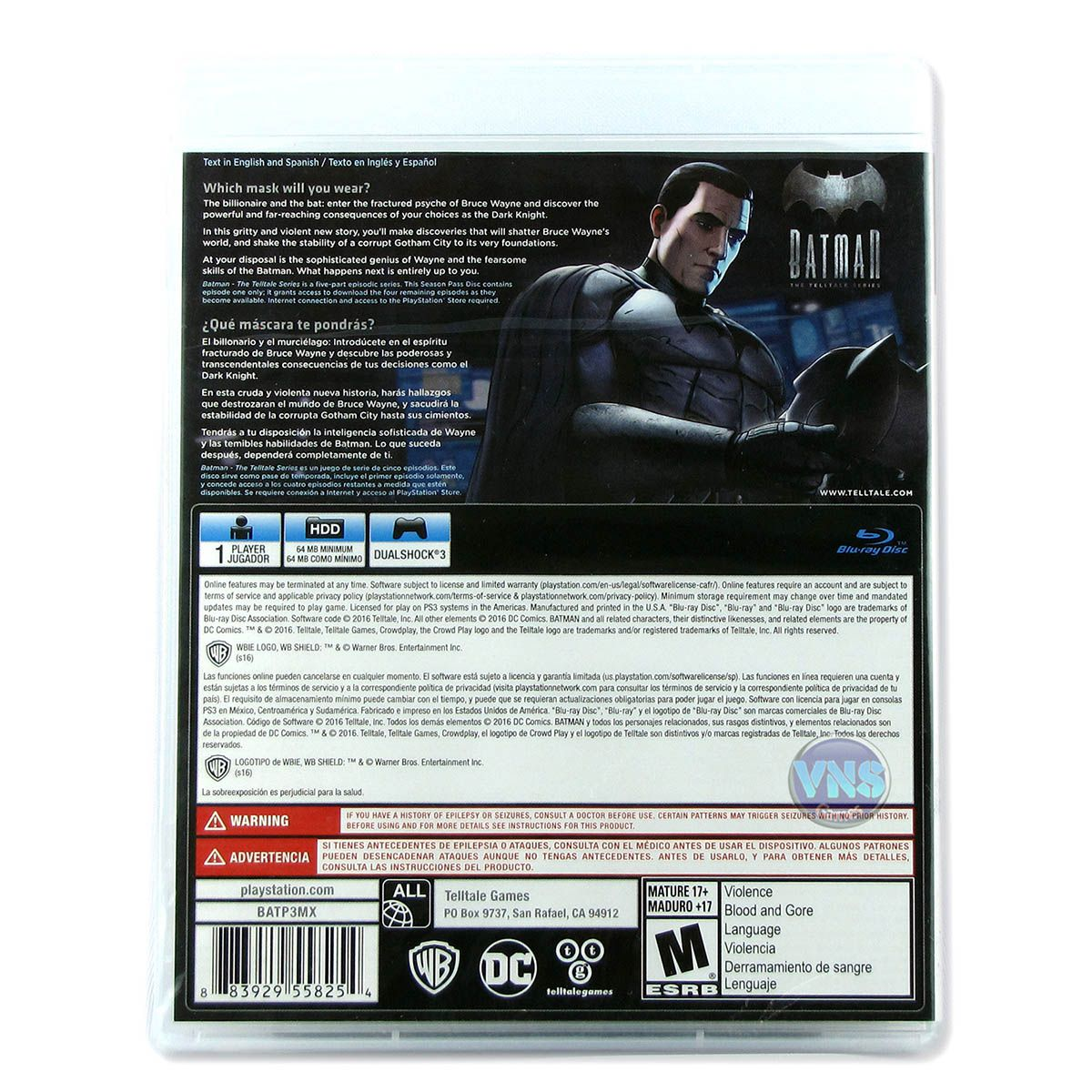 Batman The Telltale Series - PS3
