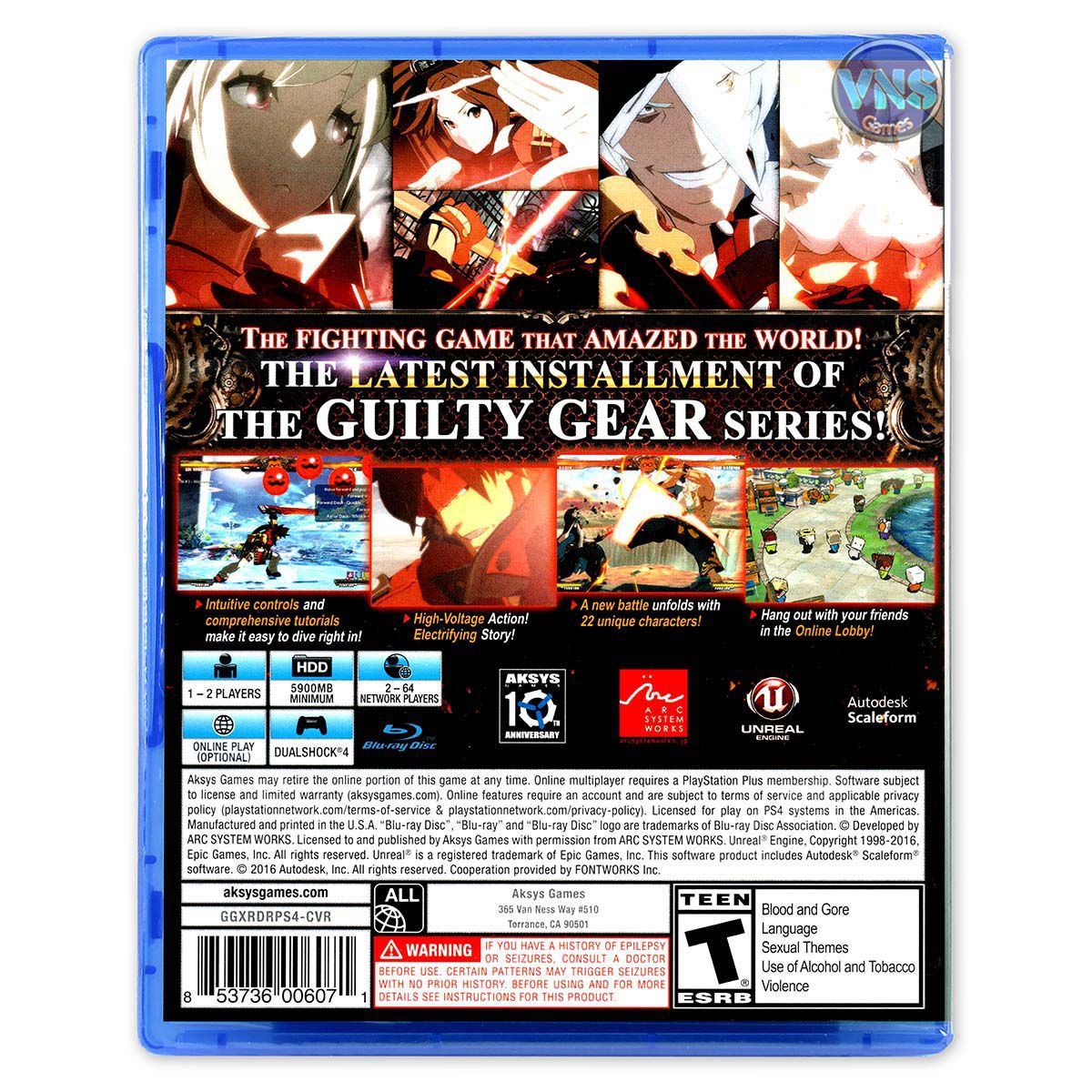 Guilty Gear Xrd -Revelator - PS4