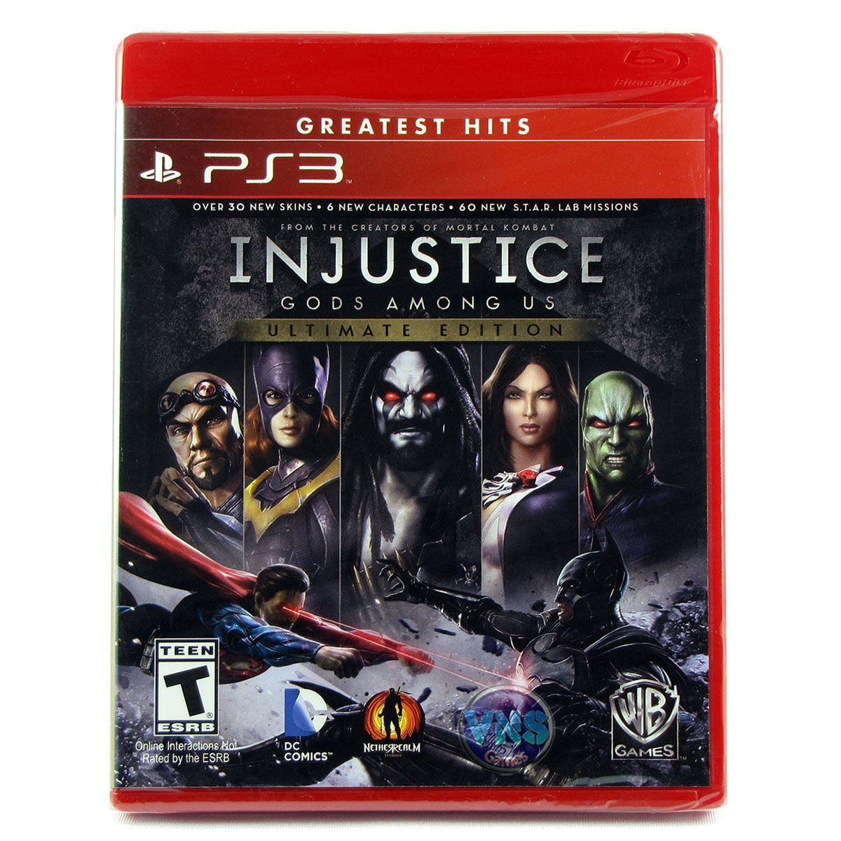 Injustice Gods Among Us - Ultimate Edition - PS3