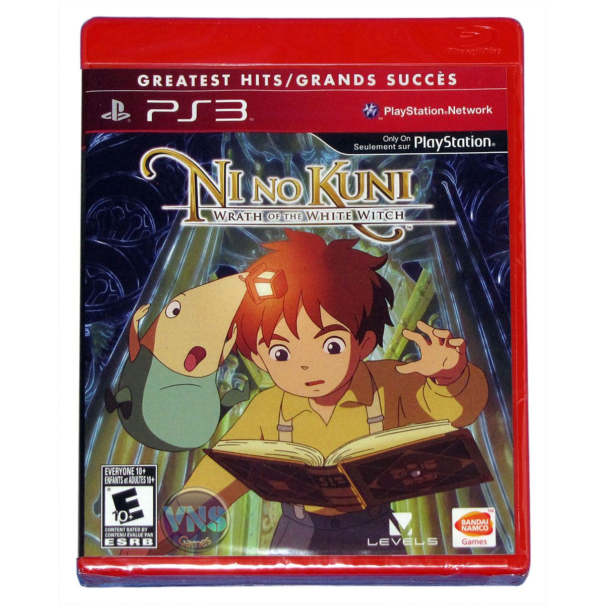 Nino Kuni Wrath of The White Witch - PS3