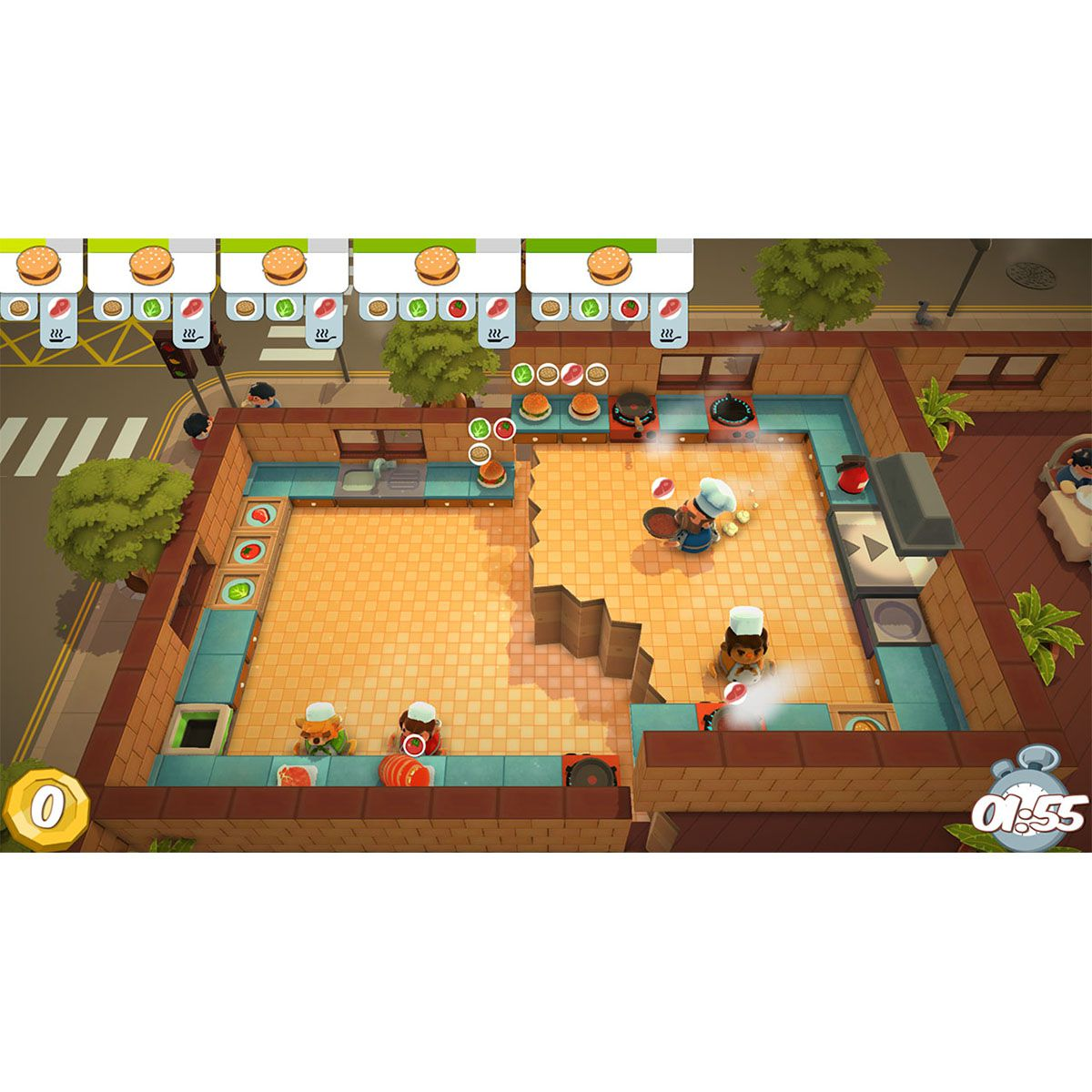 Overcooked! + Overcooked! 2 - Double Pack - Xbox One