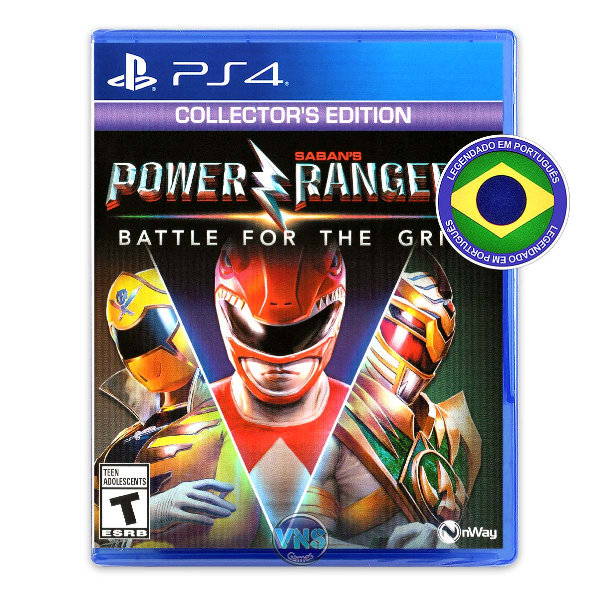 Power Rangers: Battle for the Grid - Collector's Edition - PS4