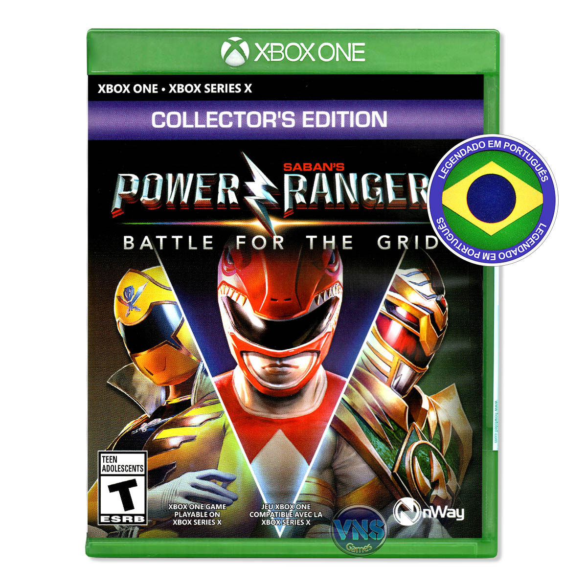 Power Rangers: Battle for the Grid - Collector's Edition - Xbox One