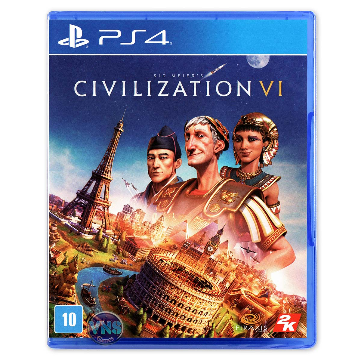 Sid Meiers Civilization VI - PS4